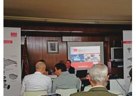 Conferencia de ACO en Colegio de Ingeniería Industrial en Zamora