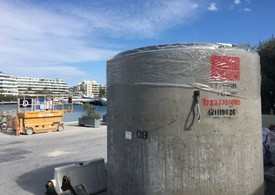 Depósito de bombeo Marina Ibiza
