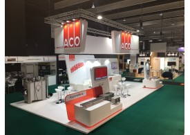 ACO - Stand en FoodTech 2018 - Hygiene First