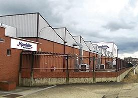 Instalaciones Mondelez Internacional en Hospital de Orbigo