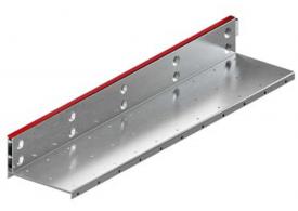 Render de la reja para canal MULTIDRIAN/MULTILINE/XTRADRAIN 200, reja brickslot-ST L H105 en acero galvanizado de dimensiones L1000 A223 H127 sin sistema de fijación, clase de carga D400.