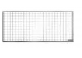 Render generico da grelha para claraboia THERM, grelha entramada 30x10 classe de carga pedonal.