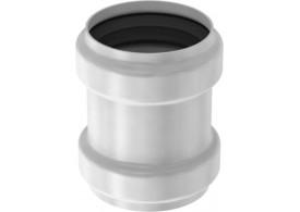 Render general da manga da tubagem PIPE, manga de reparação realizada em aço inoxidável.