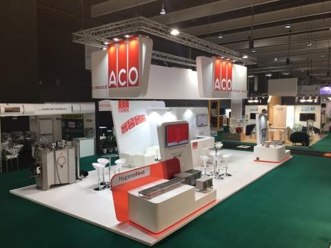 ACO - Stand en FoodTech 2018 - Hygiene First