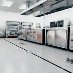 Hospital Central ACO cozinhas industriais