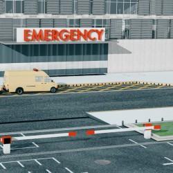 Hospital Central ACO Urgencias y aparcamiento
