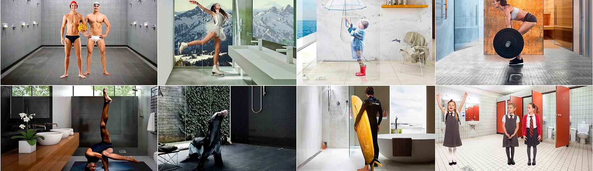 ACO Microsite banheiros e chuveiros