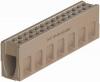 Render do canal de inspecção MONOBLOCK RD100V em betão polímerico com grelha integrada