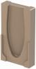 Render da tampa final para o canal MONOBLOCK RD100V 0.0 L40 A160 H275 em betão polímerico.