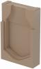 Render da tampa final para o canal MONOBLOCK RD300V L40 A400 H600 em betão polímerico.