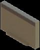 Render da tampa inicio/final para o canal MULTILINE V150 L20 A185 H120 em betão polímerico com bastidor em aço galvanizado.