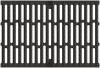 Render de la reja para canal MULTILINE 300, reja pasarela R12 en fundición de dimensiones L500 A338 H31 con sistema de fijación Drainlock, clase de carga C250.