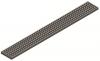 Render da grelha para canal Modular 125, grelha barras antiderrapante em aço inoxidável AISI304 da dimensões L1000 A125 H20 sem sistema de fixação, classe de carga C250.