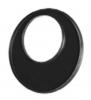 Render del adaptador para cambio de canal QMAX 225-355 L25 Ø435 de polietileno.