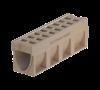 Render del canal MONOBLOCK RD200V 10.0 de hormigón polímero con reja integrada F900