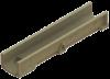 Render del canal SELF 200 L1000 H150 en hormigon polímero con premarca para salida vertical DN/OD 160 con sistema de fijación por Springlock o clavija