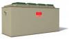 Render da ETAR CLARA LIGHT de sistema CFR para um número de pessoas entre 48-96, tamanho nominai 80, en polipropileno