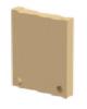 Render da tampa inicio/fin para o canal MONOBLOCK PD150V 0.0 L25 A200 H270 em betão polímerico.