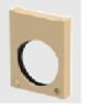 Render da tampa inicio/final com junta labiolaberíntica DN/OD 160 para o canal MONOBLOCK PD150V 0.0 L40 A200 H270 em betão polímerico.
