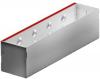 Render de la reja de inspección para canal MULTIDRIAN/MULTILINE/XTRADRAIN 100, reja brickslot-ST L H150 en acero galvanizado de dimensiones L500 A123 H173 sin sistema de fijación, clase de carga C250.