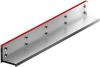 Render da grelha para canal MULTIDRIAN/MULTILINE/XTRADRAIN 100, grelha brickslot-ST L H105 em aço galvanizado da dimensões L1000 A123 H129 sem sistema de fixação, classe de carga D400.
