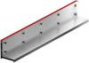Render da grelha para canal MULTIDRIAN/MULTILINE/XTRADRAIN 100, grelha brickslot-ST L H150 em aço galvanizado da dimensões L1000 A123 H177 sem sistema de fixação, classe de carga D400.