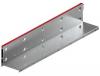 Render de la reja para canal MULTIDRIAN/MULTILINE/XTRADRAIN 150, reja brickslot-ST L H150 en acero galvanizado de dimensiones L1000 A173 H177 sin sistema de fijación, clase de carga D400.