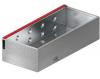 Render da grelha de inspecção para canal MULTIDRIAN/MULTILINE/XTRADRAIN 200, grelha brickslot-ST L H105 em aço galvanizado da dimensões L500 A223 H127 sem sistema de fixação, classe de carga D400.