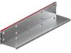 Render de la reja para canal MULTIDRIAN/MULTILINE/XTRADRAIN 200, reja brickslot-ST L H150 en acero galvanizado de dimensiones L1000 A223 H177 sin sistema de fijación, clase de carga D400.