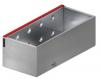 Render da grelha de inspecção para canal MULTIDRIAN/MULTILINE/XTRADRAIN 200, grelha brickslot-ST L H150 em aço galvanizado da dimensões L500 A223 H177 sem sistema de fixação, classe de carga D400.