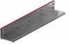 Render de la reja para canal MULTIDRIAN/MULTILINE/XTRADRAIN 150, reja brickslot-ST L H105 en acero galvanizado de dimensiones L1000 A173 H127 sin sistema de fijación, clase de carga C250.
