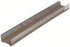 Render do canal MULTIDRAIN 100 BA L1000 H75 em betão polímerico sem grelha, sistema de fixação Drainlock e pré-marca rompivel vertical DN/OD 110
