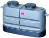 Render do separador de gorduras aéreo LIPUJET-P-SB em polietileno de alta densidade (HDPE), dividido.