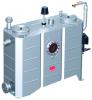 Render del separador de grasas aéreo LIPUJET-S-OM de acero inoxidable AISI316, ovalado, extensión con tubo de succión y limpieza manual (M).