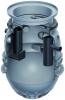 Render del separador de grasas enterrado LIPUMAX-P-B de polietileno de alta densidad (HDPE).