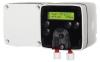 Render del dosificador de enzimas DWB, de dimensions L100 A210 H105, con bateria.