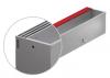 Render da grelha de inspecção para canal MULTIDRIAN/MULTILINE/XTRADRAIN 100, grelha brickslot-ST L H105 triplo em aço inoxidável AISI304 da dimensões L500 A123 H129 sem sistema de fixação, classe de carga C250.