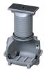 Render del decantador enterrado COALISATOR-P ST150 de polietileno de alta densidad (HDPE).